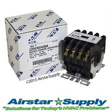 C25END430A Eaton / Cutler Hammer Contactor - 30 Amp • 4 Pole • 120V Coil