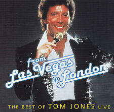 TOM JONES - CD - THE BEST OF TOM JONES LIVE - FROM LAS VEGAS TO LONDON
