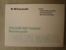 Kawasaki OEM 2009 VN900C9 Vulcan 900 Custom Owner's Manual 99987-1511