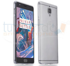 "FUNDA de GEL TPU FINA ""ULTRA-THIN"" 0,3mm TRANSPARENTE para ONEPLUS 3 / 3T"