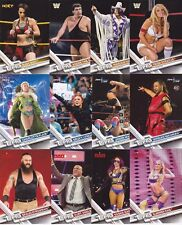 2017 Topps WWE Then, Now, Forever Base Set #101-200  Lot of 8 - BANKS, STRATUS