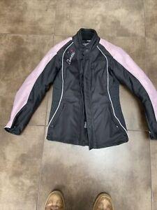Duchinni Ladies Motorcycle Jacket Size 8