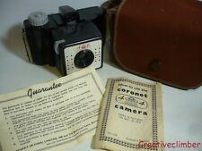 1950s Coronet 44 127 Roll Film Camera - Lomography 35mm Sprocket Shots Art Deco