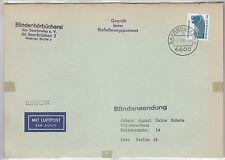 Bundesrepublik Nr.1448 als LP-Zuschlag auf sonst kostenloser Blindensendung