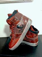 "Philipp Plein shoes mens Hi-top Sneakers ""SKULL"""