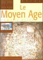 Livre atlas le moyen âge dans le monde Bernard Merdrignac1999 Ouest France book