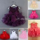 New Flower Girl Dress Party Wedding Pageant Communion Princess Beading Dress