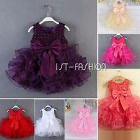 Babykleidung Mädchen fest Kommunions Hochzeit Kinder festlich Party Sommer kleid