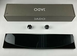 "~NIB~JADO 24"" Clear Glass Shelf - New Haven Series-Polished Chrome 026/612/100"