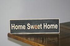 HOME Sweet Home Vintage Shabby Chic segno in legno vecchio look