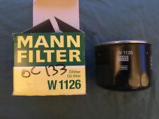 Mann Oil Filter W 1126 ALLIS-CHALMERS CASE LAMBORGHINI NEW HOLLAND SAME SEAT