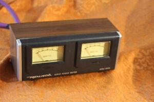 Vintage Realistic APM-100 Peak & RMS Audio Power Meter VU analog