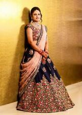 Blue Pink Lehenga Choli Chunri Designer Party Wear Lengha Ghagra Indian Lehanga