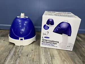 New Ion Hard Bonnet Hood Hair Dryer Home Salon Portable Professional 1875 Watt