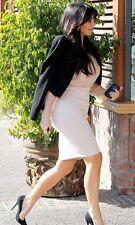 $1,495 LANVIN Runway Wool Blend Pencil Dress Skirt FR 34 U.S 2-4 Celebrity !