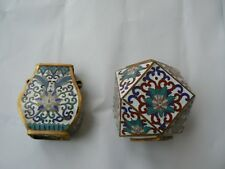 Unusual Old Chinese  Cloisonne Vase  writing accessories