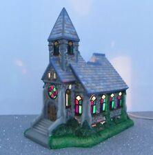 Partylite Olde World Village #2 The Church P7321 Tealight House Euc