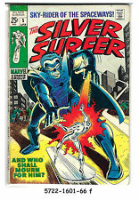 The Silver Surfer #5 (Apr 1969, Marvel) f