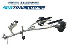 Seatrail 3.75m Skid Boat Trailer with 15 Inch Mag Wheels