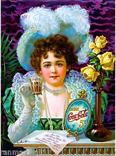 1899 Drink Coca-Cola American Nouveau Travel Advertisement Art Poster