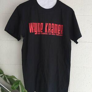 Wayne Kramer - Secret to Anti Matter tour shirt