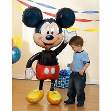 "DISNEY MICKEY MOUSE 52"" JUMBO AIRWALKER PARTY FOIL BALLOON Decoration Supplies"