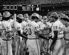 1979 St Louis Cardinals LOU BROCK Glossy 8x10 Photo '3000 Hit' Baseball Print