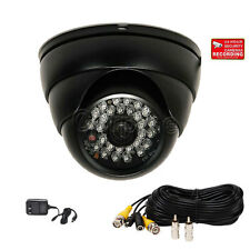 Security Camera w/ SONY CCD Outdoor Infrared Day Night Wide Angle CCTV Dome m2g
