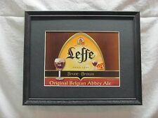 LEFFE ORIGINAL BELGIAN ABBEY ALE BEER SIGN  #908