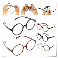 Large 360 Big Round Flexibility Frame Oversized Reading Glasses ALL Strength
