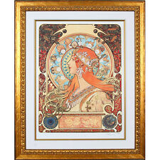 """""""ZODIAK"""" by ALPHONSE MUCHA, Print Signed and Numbered"""