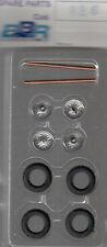 roues à rayons BBR 1/43e pour voitures années 50-60 référence R26