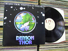 DEMON THOR WRITTEN IN THE SKY 1973 ITALY LP