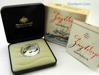 2011 ZUYTDORP SHIPWRECK Silver Proof Coin