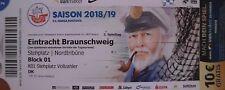 Ticket  FC Hansa Rostock - Eintracht Braunschweig 03.08.2018 - Ostseestadion