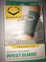EvoShield Protective Baseball Wrist Guard,Grey,Large