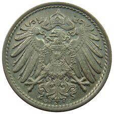 (M80) - Deutschland Germany - 5 Pfennig - 1914 D - K-N - AU/UNC - KM# 11