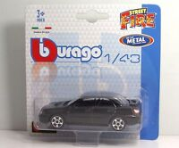 "Bburago 30001 Subaru Impreza WRX STI ""Black"" METAL Scala 1:43"
