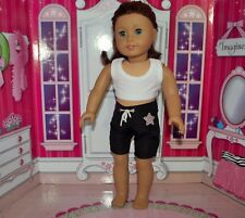 """clothes top and pants dance gym for 18"""" American girl doll"""