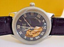 Rare Vintage INVICTA Objet Mechanical Skeleton Watch and Box