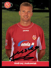 Andrzej Juskowiak Autogrammkarte Energie Cottbus 2002-03 Original Sign+ A 79655