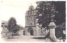 CPSM PF 48 - SAINT GERMAIN DU TEIL (Lozère) - La Place de l'Eglise, Peu courante