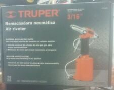 "TRUPER TPN-883 AIR RIVETER 3/16"" PNEUMATIC 4 boqui(3/32, 1/8, 5/32, 3/16)"""