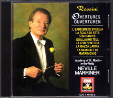Neville Marriner: Rossini guilaume Tell William Semiramide la gazza ladra EMI CD