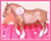 ❤️Custom Painted OOAK Breyer Horse Traditional Model Chestnut Belgian Gelding❤️