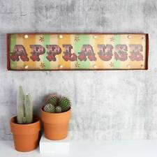 APPLAUSE Light up LED bulb Carnival Sign Wall art Arrow Circus Bedroom Stage