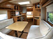 Wohnwagen Tabbert Vivaldi 560 TD Caravan Festbett Breite 2,50m Warmwasser