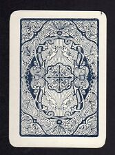 Vintage WIDE Swap/Playing Card - Pattern with Rabbits