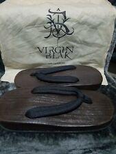 VirginBlak Getta Japanese Asian Sandals