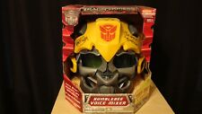 Hasbro Transformers Revenge of Fallen Bumblebee VoiceMixer Helmet SIGNED PROOF!!